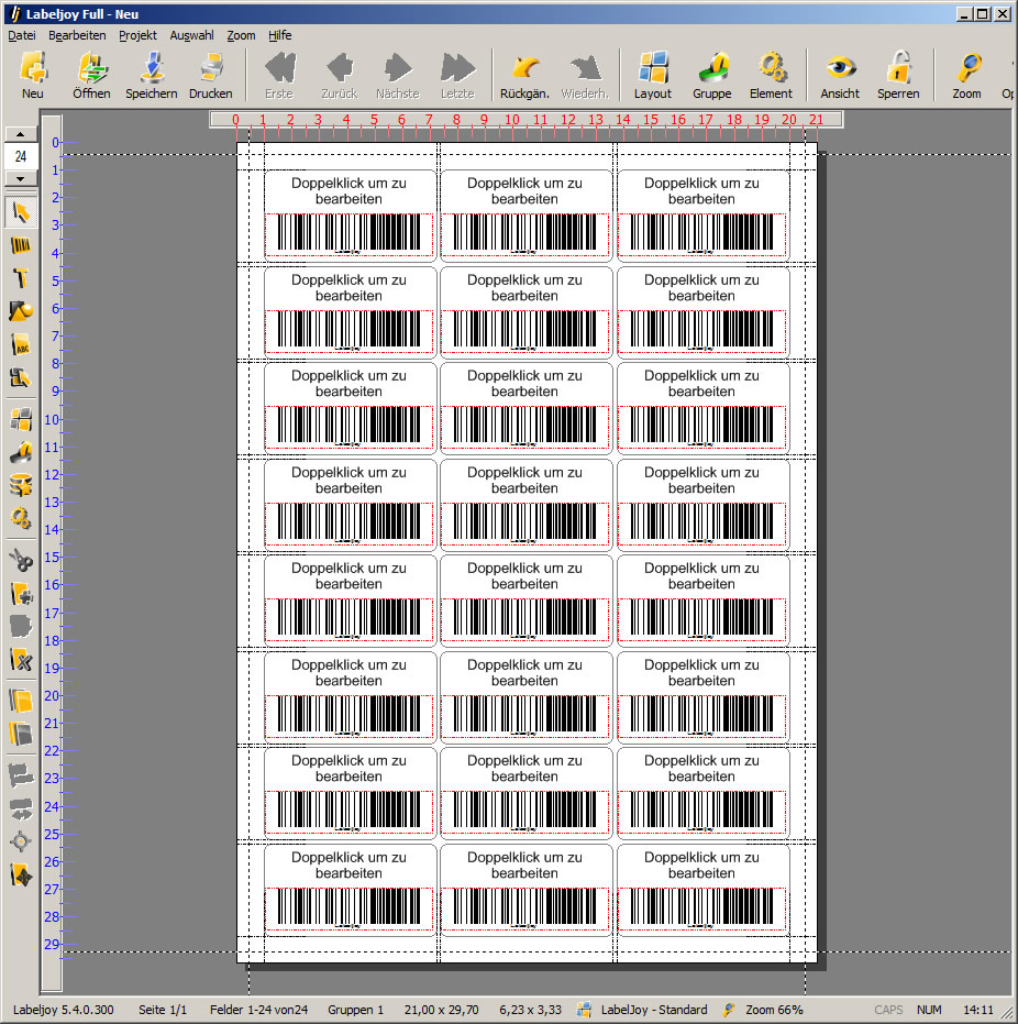 LabelJoy - Professionelle Barcode Software