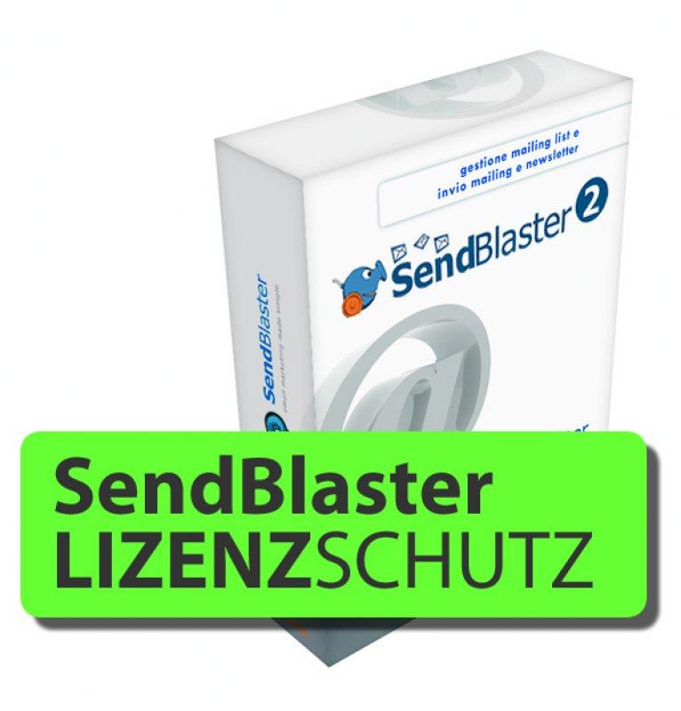 Lizenz-Schutz für SendBlaster