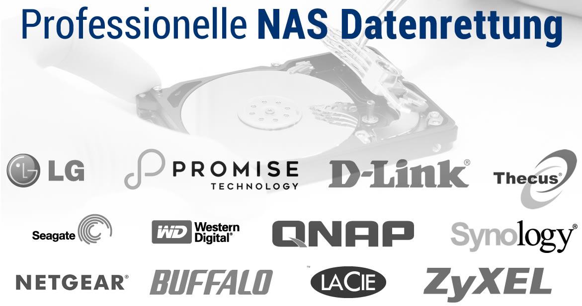 Professionelle NAS Datenrettung durch RecoveryLab